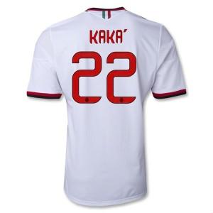 Camiseta de AC Milan 2013/2014 Segunda Kaka Equipacion