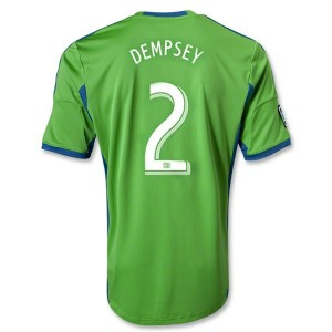 Camiseta Seattle Sound Dempsey Primera Equipaci Tailandia