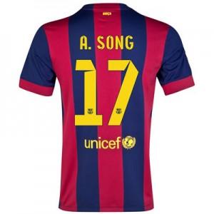 Camiseta nueva Barcelona A.SONG Equipacion Primera 2014/2015