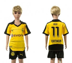 Camiseta nueva del Borussia Dortmund 2015/2016 11 Niños