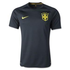 Camiseta nueva Brasil de la Seleccion Tercera WC2014