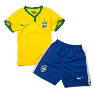 Camiseta nueva del Brasil de la Seleccion WC2014 Nino Primera