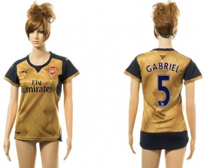 Camiseta Arsenal 5# Away