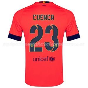 Camiseta Barcelona Cuenca Segunda 2014/2015