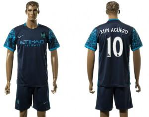 Camiseta Manchester City 10# Away