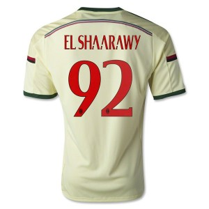 Camiseta nueva AC Milan El.Shaarawy Equipacion Tercera 2014/2015