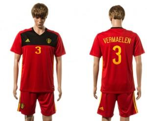 Camiseta Belgium 3# 2015-2016