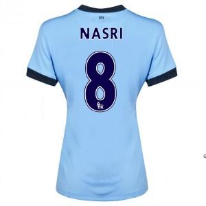 Camiseta nueva Manchester City Dzeko Segunda 2014/2015