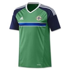 Camiseta Irlanda del Norte 2016/2017