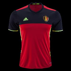 Camiseta Belgium Primera Equipacion 2016