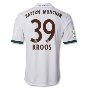 Camiseta de Bayern Munich 2013/2014 Tercera Kroos Equipacion