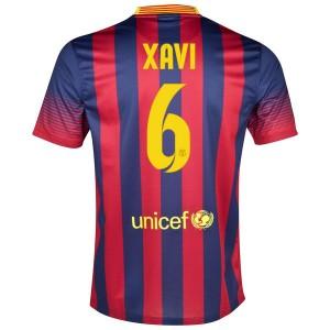 Camiseta de Barcelona 2013/2014 Primera Xavi
