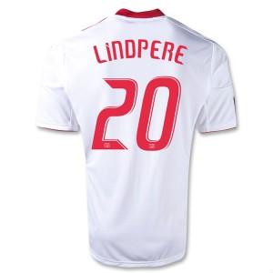 Camiseta de Red Bulls 2013/2014 Primera Lindpere Equipacion