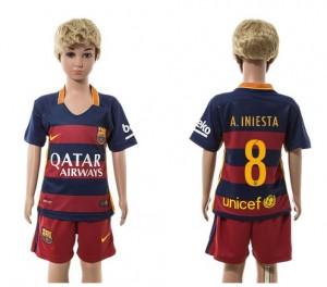 Camiseta nueva Barcelona Niños 8 Home 2015/2016