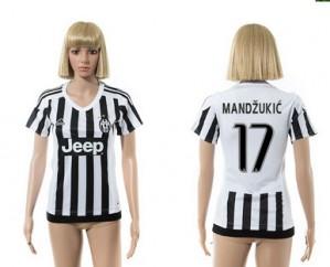 Camiseta nueva del Juventus 2015/2016 17 Mujer
