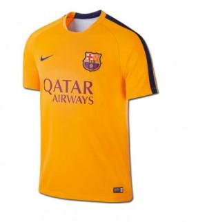 Camiseta de FC Barcelona 2015/2016 Segunda Equipacion