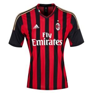 Camiseta AC Milan Primera Tailandia 2013/2014