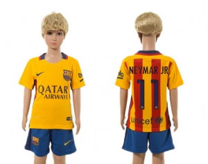 Camiseta nueva Barcelona Niños 11# 2015/2016