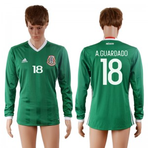 Camiseta Mexico 18# 2016-2017