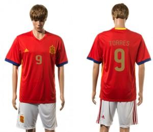 Camiseta de España 2015-2016 9#
