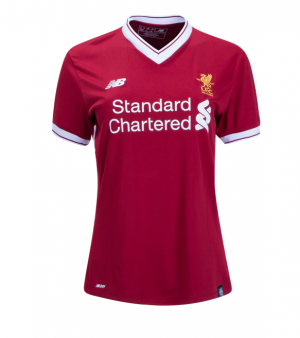 Camiseta nueva del Liverpool 2017/2018 Equipacion Mujer Primera