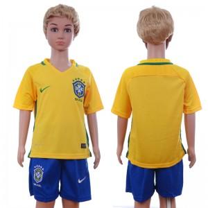 Camiseta Brasil 2016/2017 Niños
