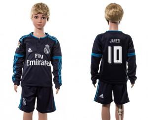 Camiseta Real Madrid 10# Manga Larga 2015/2016 Niños