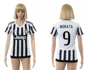 Camiseta nueva del Juventus 2015/2016 9 Mujer