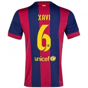 Camiseta nueva del Barcelona 2014/2015 Equipacion XAVI Primera