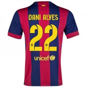 Camiseta nueva Barcelona Dani Alves Equipacion Primera 2014/2015