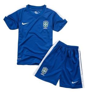 Camiseta nueva Brasil de la Seleccion Nino Segunda 2013/2014