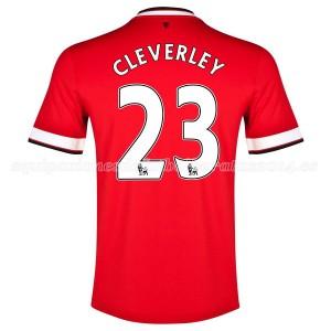 Camiseta de Manchester United 2014/2015 Primera Cleverley