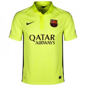 Camiseta de Barcelona 2014/2015 Tercera Equipacion