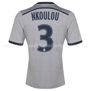 Camiseta nueva del Marseille 2014/2015 Nkoulou Segunda