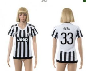 Camiseta nueva Juventus Mujer 33 2015/2016