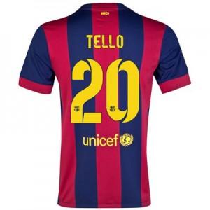 Camiseta nueva del Barcelona 2014/2015 Equipacion TELLO Primera