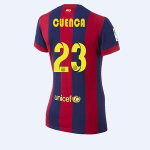 Camiseta nueva del Barcelona 2014/2015 A.Iniesta Segunda