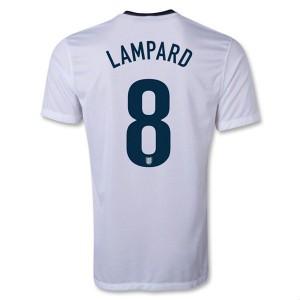 Camiseta nueva Inglaterra de la Seleccion Lampard Primera 2013/2014