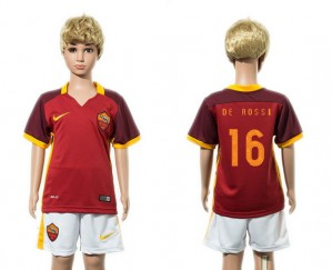 Camiseta AS Roma 16 2015/2016 Niños