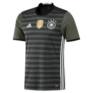 Camiseta de Alemania 2016 Segunda Equipacion