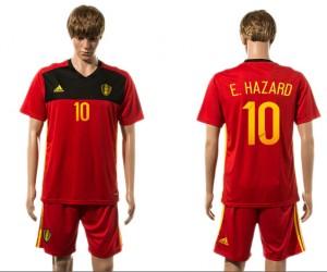 Camiseta nueva Belgium 10# 2015-2016