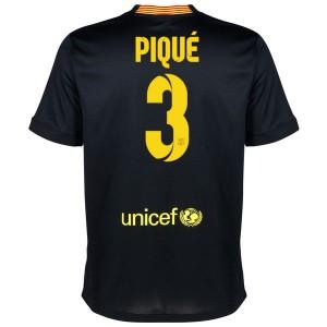 Camiseta de Barcelona 2013/2014 Tercera Pique Equipacion