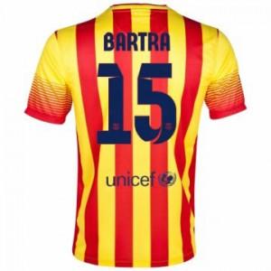 Camiseta del Bartra Barcelona Segunda Equipacion 2013/2014