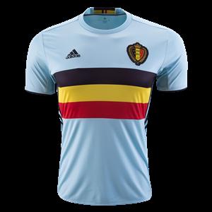Camiseta nueva del Belgium 2016 Equipacion Segunda