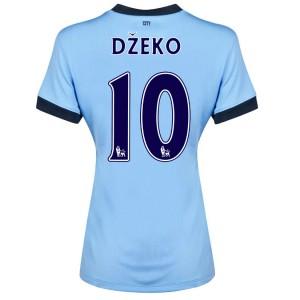 Camiseta del Dzeko Manchester City Tercera 2014/2015