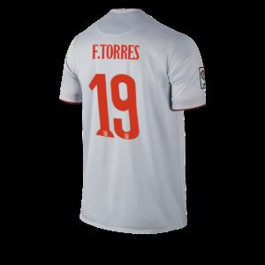 Camiseta Atletico Madrid TORRES Segunda Equipacion 2014/2015