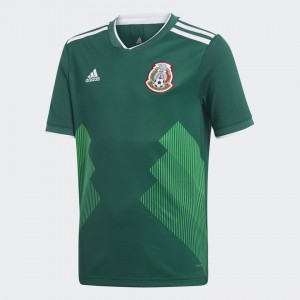 Camiseta de MEXICO 2018 Home Juventud