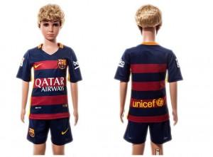 Niños Camiseta del Barcelona Home 2015/2016