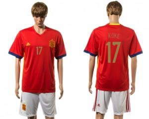 Camiseta del 17# España 2015-2016