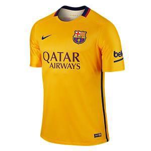 Camiseta de Barcelona 2015/2016 Segunda Equipacion